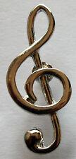 Notenschlüssel Pin / Violinschlüssel Anstecknadel treble clef music Musikverein