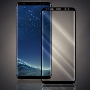 Schutzglas Samsung Galaxy S8 Plus Fullscreen curved Panzer Schutz Glas Folie 9H