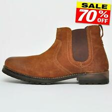 Red Tape Clifton REAL SUEDE LEATHER Mens Dealer Chelsea Boots From £16.99