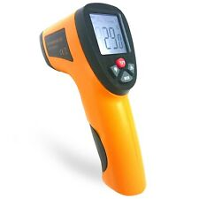 Digital Infrared Temperature Temp Gun Thermometer Non-Contact IR Laser Point IAU