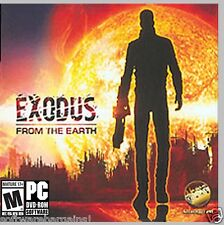 EXODUS FROM THE EARTH. BRAND NEW PC DVD SOFTWARE.  . SHIPS FAST and SHIPS FREE !