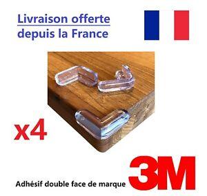 4 X Protège coins de Meuble / Table / Angle - Protection pour enfant / bébé