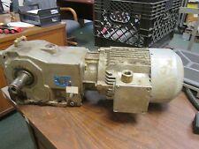 Siemens AC Motor w/ Gear LA5096-4BA99-Z 2HP 1735RPM Frame: 90L 230/460V Used