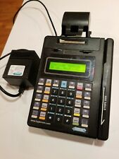 Used - Hypercom T7P Credit Card Machine and Power Supply