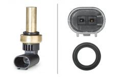 Sensor, Kühlmitteltemperatur für Kühlung Hinterachse HELLA 6PT 358 058-221