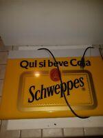 Insegna luminosa Schweppes