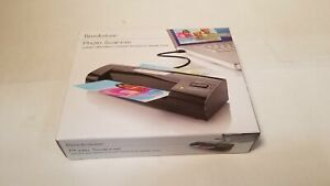 """Brookstone Photo Portable Scanner USB 4"""" X 6"""" Feeder, for Windows and Mac"""