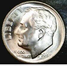 1948s CH / GEM BU SILVER Roosevelt Dime FLASHY BLAZING LUSTROUS Coin  NO RESERVE