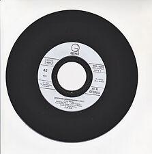 """CHER Vinyl 45T 7"""" LOVE AND UNDERSTANDING - TRAIL OF BROKEN HEARTS - GEFFEN 19035"""