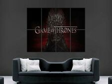 GAME OF THRONES   LARGE WALL ART POSTER PICTURE  PRINT
