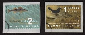 Finland: Provincial Birds and Fish (1st series) - Uusimaa.  Complete used set