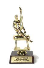 Gymnastics Trophy, Male- Pommel Horse- Award- Desktop Series- Free Lettering