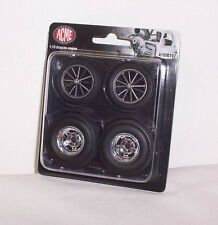 GMP ACME 1/18 Dragster Wheel & Tire Tyre Set A1800102 Diorama Biante Classic