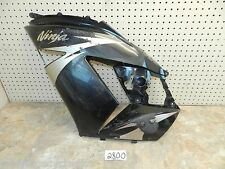 2006-11 KAWASAKI ZX14 LEFT CENTER MID FAIRING PLASTIC BODY PANEL OEM 07 08 09 10