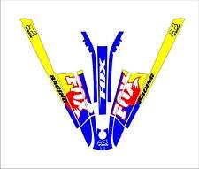 kawasaki 550 sx jet ski wrap graphics pwc stand up jetski decal kit 3