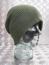 ARMY GREEN Knitted Beanie Hat / Watch Cap / Woolly hat - One size - BRAND NEW