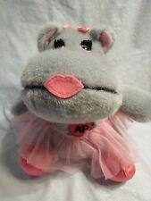 "Commonwealth Ballet Hippo Pink Tutu Plush Soft Toy Stuffed Animal 9"""