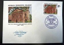 MADAGASCAR  640   PREMIER JOUR FDC      TEMPLE TANANARIVE       30F     1980