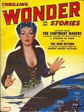Thrilling Wonder Stories April 1951  De Camp