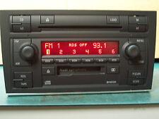 02-04 AUDI A4 S4 Symphony II Radio Cassette 6 CD Changer 8E0035195A