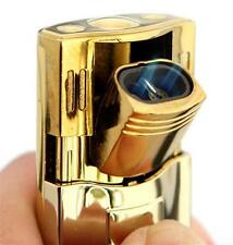 Tiger Cigar Cigarette Torch Lighter Gold Silver Color, Randomly Ships