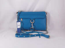 Rebecca Minkoff Mini Mac Clutch in Turquoise with Silver Hardware NWT