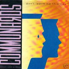 jukebox Single 45 COMMUNARDS DON'T LEAVE ME THIS WAY NL