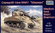 UniModels — M4A1 Sherman medium tank — Plastic model kit 1:72 Scale #371
