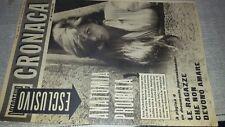Rivista vintage DETECTIVE CRONACA n. 26 del 1961 Claudia Cardinale in copertina