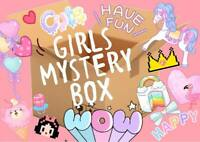 GIRLS SURPRISE BOX OF MANY ITEMS CUTE GIRLY BRAND NEW TOYS GIFTS & ACCESSORIES