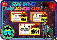Reservoir Stag Scratch Cards Funny Dare Scratchcards Wedding Invitations Dogs