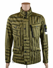 Stone Island Hip Length Cotton Zip Men's Coats & Jackets