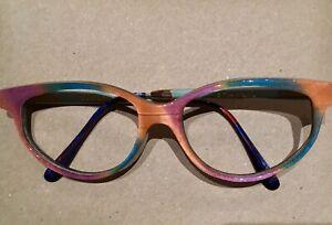 GOLD & WOOD Vintage Damenbrille