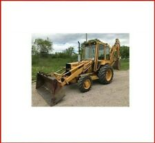 Ford 555a 555b 655a Tractor Loader Backhoe Service Repair Shop Technical Manual