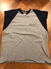 Vintage Champion Sleeveless T Shirt L