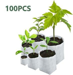 Eco Biodegradable Seed Pouch Planting Nursery Grow Bags Planting Pots