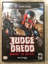 Judge Dredd : Dredd vs Death ( Nintendo Gamecube,2003 ),Complete w/Box & Manual