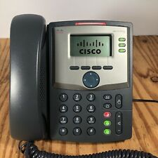Cisco SPA 303 3-Line Small Business IP Phone w/ Power Supply & Manual, PC Port