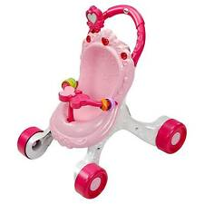 Fisher- CGN65 Princess Mommy Stroll-along Musical Walker