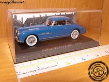 Bugatti Type 101 año de construcción 1951 azul escala 1:43