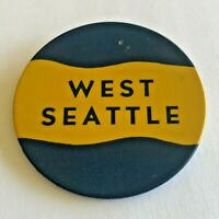 "Vintage ""West Seattle"" Pinback Button"