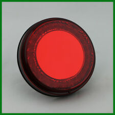 "UPI 4"" Round Grommet Mount Stop Turn Tail Light ""Mirage"" 24 LED Red"