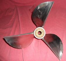 Mach SternCleaver 15 x 24 Stainless Steel Racing Propeller For Mercury (113-17)