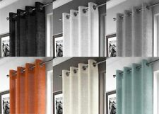 Modern Solid Pattern Polyester Window Curtains