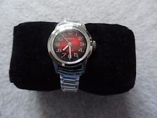 Caravelle Wind Up Vintage Ladies Watch with a Red Dial