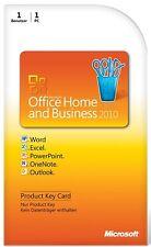 Microsoft Office Home Business 2010 ESD Excel Word Outlook deutscher Händler
