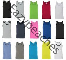 American Apparel - Unisex Tank Tops, Size XS-L XL, 50/50 Poly Cotton Tee T-shirt