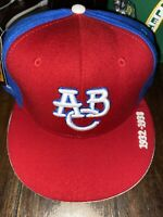 Atlanta Black Crackers ABC Negro League Hat Size 7 7/8