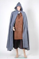 The Lord of the Rings Frodo Baggins Cape Coat Costume Set <Custom Made>