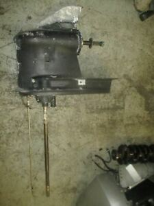 """Suzuki DF225 225hp outboard counter rotating lower unit with 25"""" shaft"""